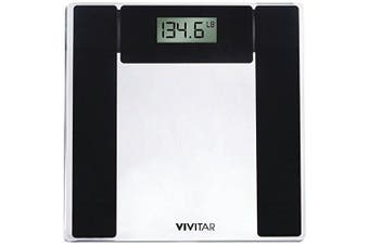 (PS-V134-C, Clear) - Vivitar Digital Bathroom Scale, Clear, PS-V134-C, 1.8kg