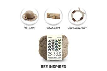 (4.5kg.) - 100% Organic Hemp Cord, Twine, String | Jewellery, Beading, Macrame, Crafts | 23 Bees