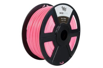 (Pink) - WYZworks PLA 1.75mm [ PINK ] Premium Thermoplastic Polylactic Acid 3D Printer Filament - Dimensional Accuracy +/- 0.05mm 1kg / 2.2lb + [ Multiple Colour Options Available ]