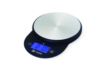 (Black) - CDN SD1104-BK ProAccurate Digital Kitchen Scale, 5kg, Black