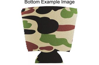 (4, Camo) - Blank Neoprene Solo Cup Collapsible Coolie (4, Camo)