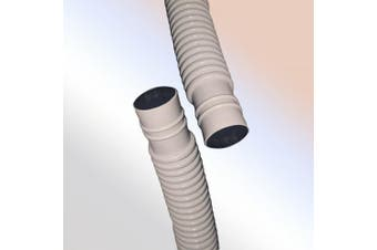 6.1m Drain Hose for Ductless Mini Split Air Conditioner Heat Pump Systems; 5/8 ID, UV Resistant
