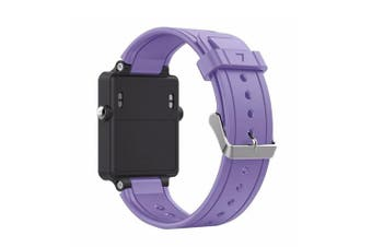(Violet) - Band for Garmin Vivoactive, Soft Silicone Wristband Replacement Watch Band for Garmin Vivoactive Sports GPS Smart Watch