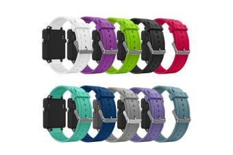 (10Pcs) - Band for Garmin Vivoactive, Soft Silicone Wristband Replacement Watch Band for Garmin Vivoactive Sports GPS Smart Watch