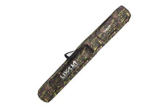 (150cm, Camouflage green) - Lixada Fishing Tackle Bag Two Layer Large Capacity Folding Fishing Rod Carry Case Fishing Pole Storage Bag(120-150cm)