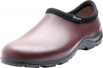 (Size 11, Brown) - Sloggers Men's Waterproof Shoe with Comfort Insole