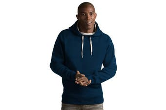 (Medium, Navy) - Antigua Men's Victory Pullover Hoodie