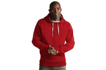(XX-Large, Dark Red) - Antigua Men's Victory Pullover Hoodie