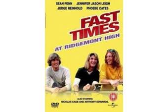 Fast Times at Ridgemont High [Region 4]