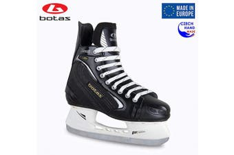 (Adult 11) - Botas - Draught 281 - Men's Ice Hockey Skates | Made in Europe (Czech Republic) | Colour: Black