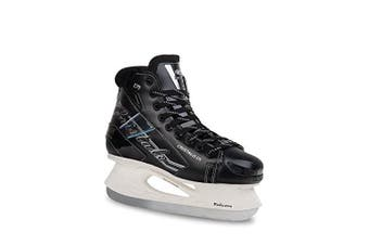 (Adult 7.5, Black) - Botas - CRISTALO 171 - Women's Ice Skates | Made in Europe (Czech Republic) | Colour: Black or White