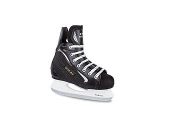 (Child 10) - Botas - Draught 281 - Men's Ice Hockey Skates | Made in Europe (Czech Republic) | Colour: Black