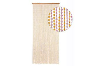 (MINI-DIAMONDS, PINK / ORANGE) - HAB & GUT (DV0245) door curtain Design: MINI-DIAMONDS, Colour: PINK / ORANGE, Material plastic, Size: 90 x 200 cm / 35,4 x 78,7 inches