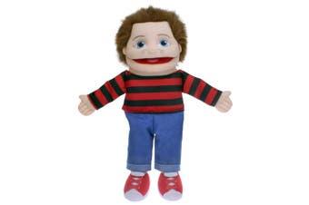 (Small) - The Puppet Company Small Sized Puppet Buddies Boy Hand Puppet - Light Skin Tone