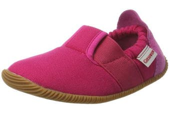 (11.5 UK, Pink (365 / Purpur)) - Giesswein Girls' Söll-Slim Fit Low-Top Slippers