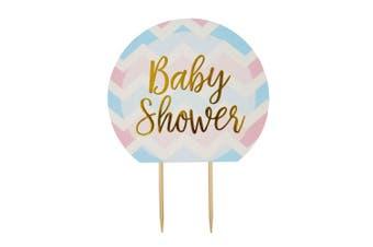 Neviti Pattern Works Cake Topper Baby Shower, Multi-Colour