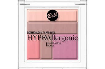 Bell HYPOAllergenic ILLUMINATING ROUGE POWDER No. 02 Dermatologist Approved