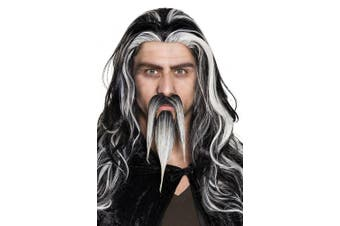 BOLAND BV Boland – 01825 Moustache and Beard Wizard Fancy Dress One Size