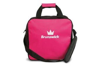(Pink) - Brunswick T-Zone Single Tote Bowling Bag