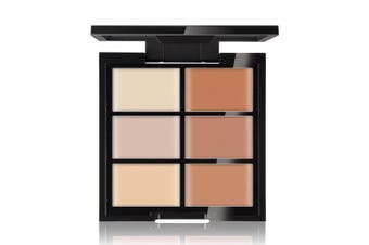 (Medium) - CCbeauty Cream Concealer Contour Palette Makeup Highlighter and Makeup Colour Face & Eye Dark Circle Corrector Kit (Medium)