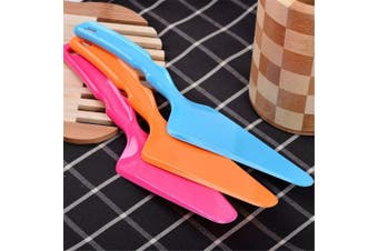 (2) - Pizza Server / Pie Server/ Cake Cutter Slicer/ Pizza Shovel/Cheese Knives , Assorted Colour (2)