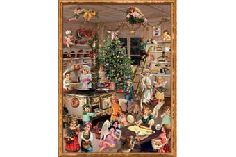 Angel Bakers - Paper Advent Calendar -
