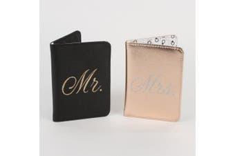 Always Forever' Mr. And Mrs. Passport Holder Set - WTC709
