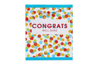 American Greetings Congratulations Colourful Dots Extra Small Gift Bag (5686339)