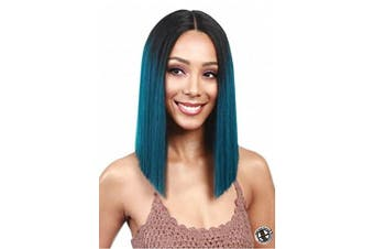 (1B) - Bobbi Boss MLF136 Yara Lace Front Wig Colour 1B (1B)