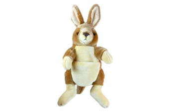 The Puppet Company Full-Bodied Animal Hand Puppets Kangaroo