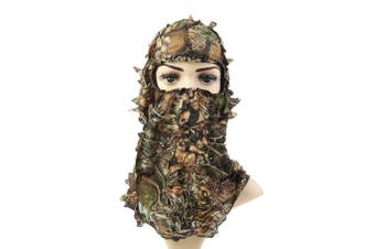 Light Weight Hunting Camouflage Full Cover 3D Leafy Face Mask