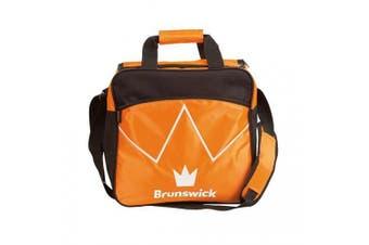(Orange) - Brunswick Blitz Single Tote Bowling Bag - Many Colours Available