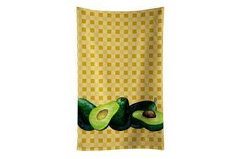 Caroline's Treasures BB7165KTWL Avacado on Basketweave Kitchen Towel , 38cm X 70cm , multicolor