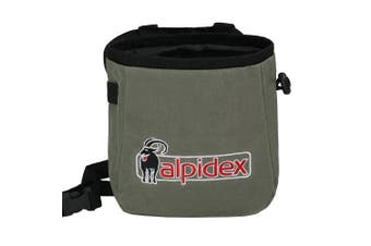 (Grey Mountain) - ALPIDEX Chalkbag including waist belt
