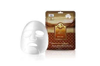 3W CLINIC Premium Placenta Mask 10 Sheets Pouch Anti-wrinkle Moisturising