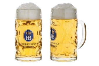 German Beer Mug Munich Hofbräuhaus München HB mug 1 litre King Werk KI 1000074
