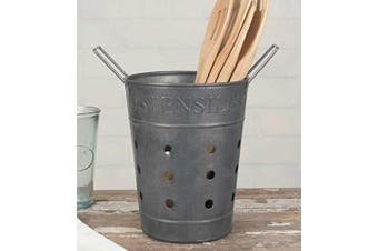 Vintage Inspired Utensils Basket