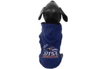 (XX-Small) - NCAA Texas San Antonio Roadrunners Cotton Lycra Hooded Dog Shirt