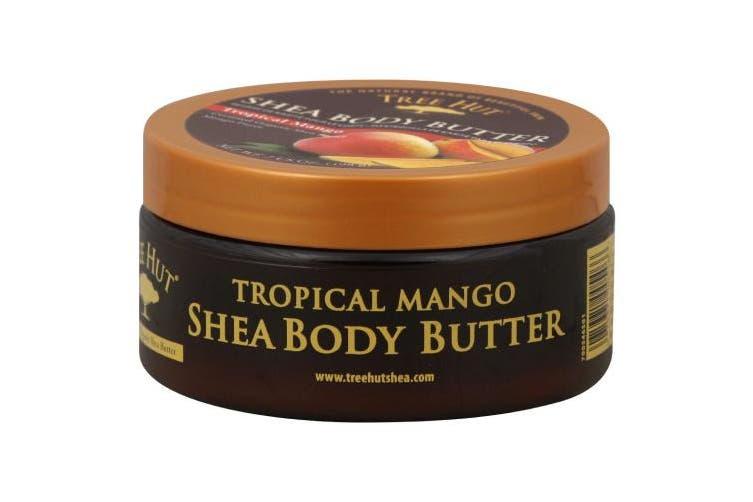 Tree Hut 24 Hour Intense Hydrating Shea Body Butter, Tropical Mango, 210ml