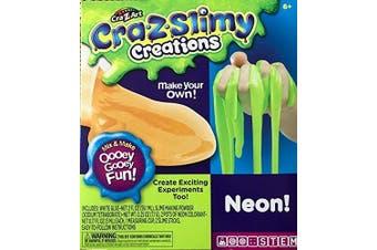 Cra Z Slimy Creations Neon