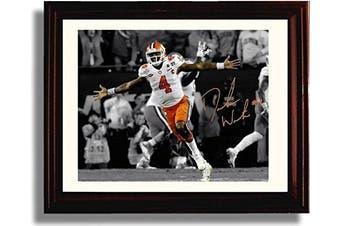 "Framed DeShaun Watson ""Championship Celebration"" Clemson Tigers National Champs! Autograph Replica Print"