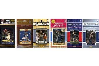 NBA Memphis Grizzlies 6 Different Licenced Team Set Trading Card