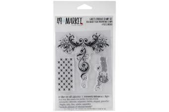 49 & Market Clear Stamps 10cm x 15cm -Ethereal