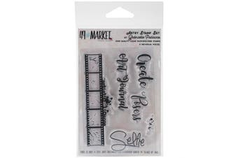 49 And Market Clear Stamps 7.6cm x 10cm