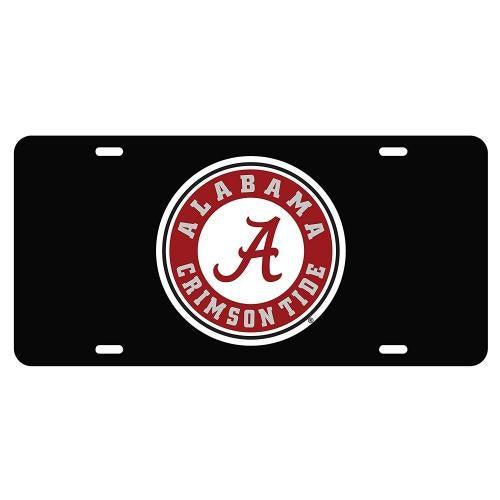 (BLK/REF ALA SEAL TAG (10031)) - Alabama Crimson Tide Tag Colour: BLK/REF ALA SEAL TAG (10031) Alabama Crimson Tide Tag