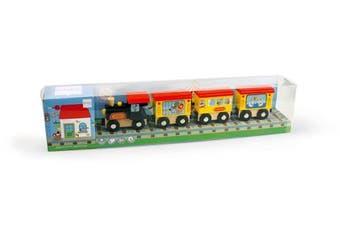 Scratch 6181060 Wooden Circus Train