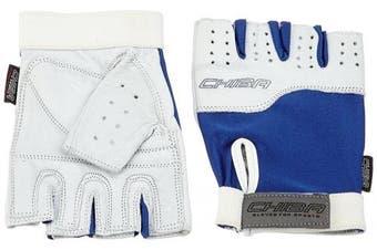 (XX-Large, Royal/White) - Chiba Power Training Glove