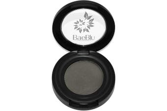 (Charcoal) - Best Organic Natural Vegan Brow Tint Makeup, Made in USA, Brow Powder by BaeBlu, Charcoal