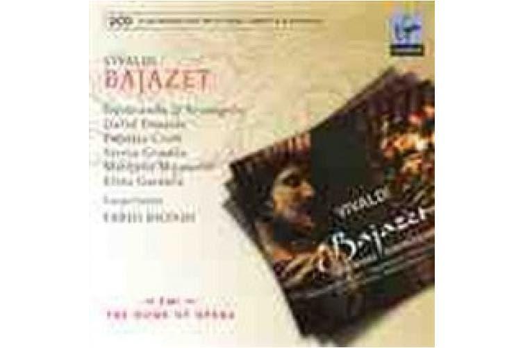Vivaldi: Bajazet [Includes DVD]