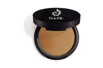 (Touch of Sun Bronzer) - Best Organic 100% Natural Vegan Matte Bronzer Makeup, Made in USA, Pressed Bronzer Powder by BaeBlu, Touch of Sun